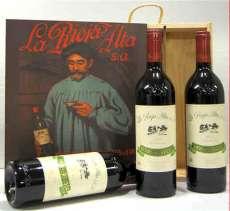 Червени вина 3 Reserva 904  en caja de madera