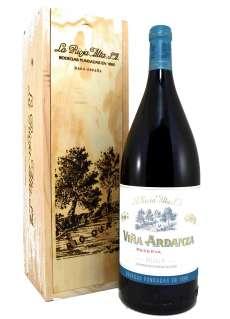Червени вина Magnum Viña Ardanza  en Madera