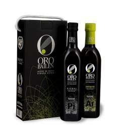 Екстра необработен зехтин Oro Bailen.Estuche 2 botellas 750 ml.