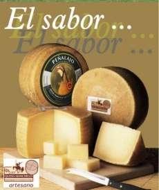 Manchego сирене Peñalajo